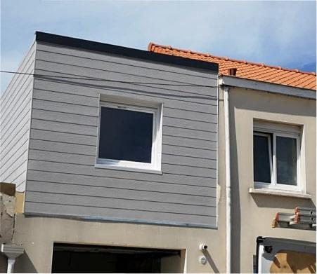 Construction d'extension en bois près de Saint-Omer et Hazebrouck